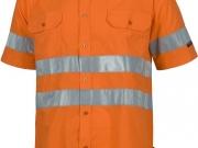 Camisa manga corta alta visibilidad naranja My.jpg