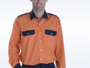 Camisa bicolor naranja marino ML.jpg