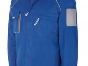 Cazadora multibolsillos algodon 270 gramos azulina- gris Mc.jpg
