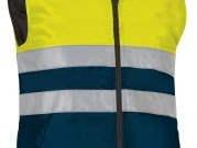 Chaleco acolchado bicolor marino amarillo AV.jpg