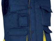 Chaleco acolchado bicolor marino amarillo.jpg