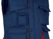 Chaleco acolchado bicolor marino rojo.jpg