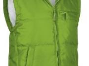 Chaleco acolchado con forro interior verde con blanco.jpg