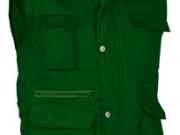 Chaleco acolchado multibolsillos verde botella.jpg