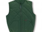 Chaleco clasic color verde. costuras de rombo. mc.jpg