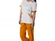 Conjunto cuello medio blanco y naranja.jpg