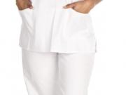 Conjunto unisex cuello pico blanco.jpg