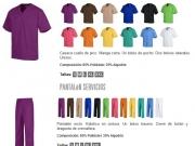 Conjunto unisex cuello pico stock variso colores My200.jpg