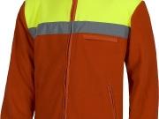 Forro polar amarillo alta visibilidad y rojo con una banda reflectante.jpg