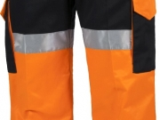 Pantalon alta visibilidad tricolor marino naranja amarillo con bandas My.jpg