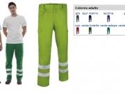 Pantalon multibolsillos bandas reflectantes en Stock.jpg