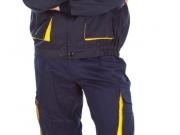Conjunto pantalon y cazadora fabricacion especial marino y amarillo.jpg