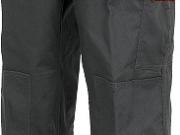 Pantalon bicolor multibolsillos gris rojo.jpg