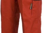 Pantalon bicolor multibolsillos rojo negro.jpg