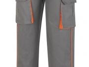 Pantalon multibolsillos algodon 270 gramos gris-naranja Mc.jpg