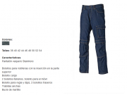 Pantalon vaquero de trabajo, reforzado. azul Adver.png