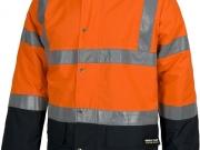 Parka acolchada e impermeable alta visibilidad naranja con navy MY123.jpg