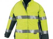 Parka de mujer alta visibilidad con bandas reflectantes amarillo Mc.jpg