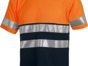 Camiseta alta visibilidad bicolor marino y naranja My.jpg