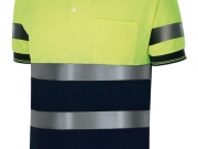 Polo manga corta alta visibilidad bicolor marino-amarillo Mc.jpg