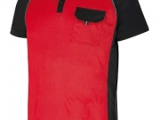 Polo bicolor rojo-negro mc 135 gramos tejido tecnico.jpg