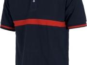 Polo manga corta bicolor marino rojo.jpg