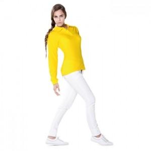 polo mujer manga larga 100% algodon