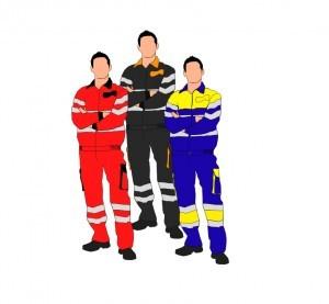 ropa alta visibilidad - pantalon y cazadora alta visibilidad