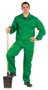 Conjunto pantalon y cazadora fabricacion especial verde y grass
