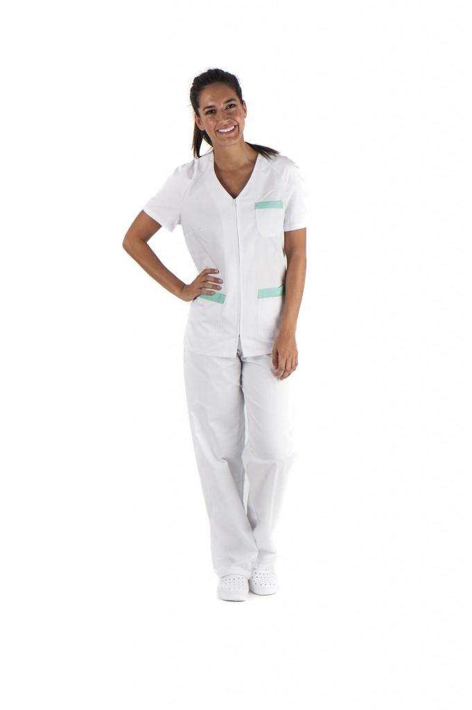 conjunto sanitario, ropa laboral, ropa de trabajo, clinica, farmacia, estetica